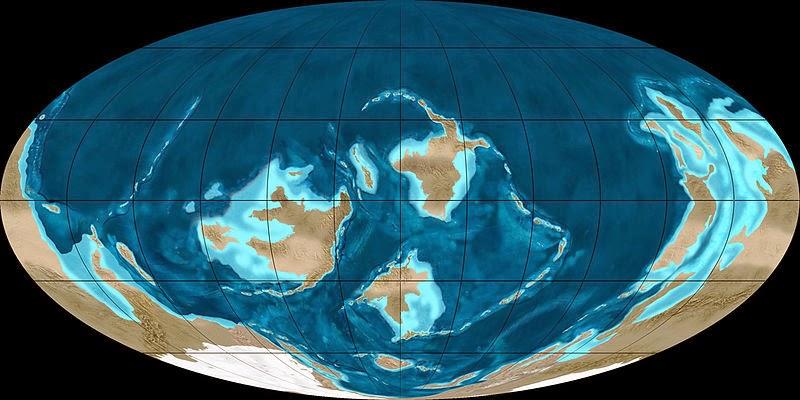 Resultado de imagen de la tierra periodo ordovicico